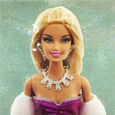 Solid Glam Barbie #6