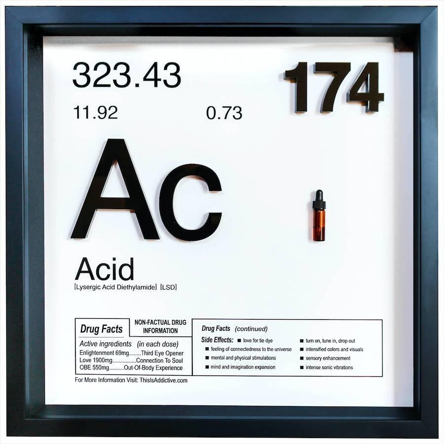 Acid | Daniel Allen Cohen | Artist | Art Angels