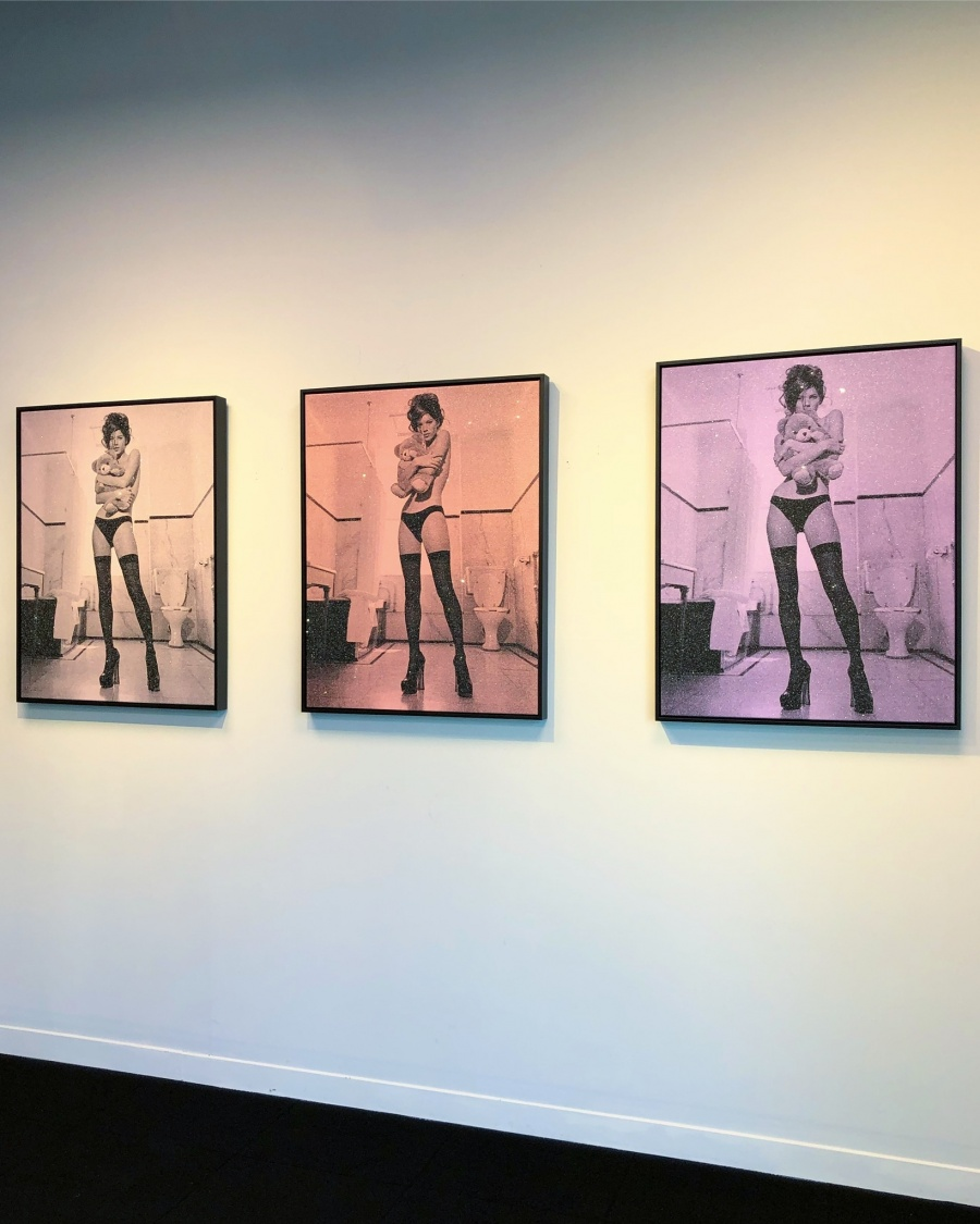 Kate Moss Installation
