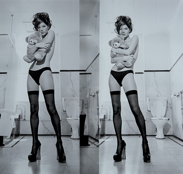 Kate Moss Diptych