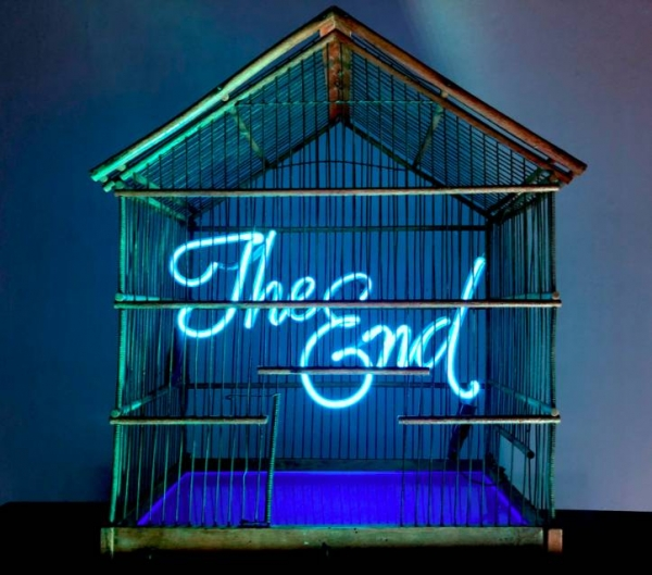 The End (Birdcage) - Blue