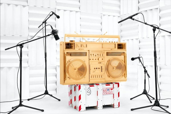 Gold Sound Boombox .002