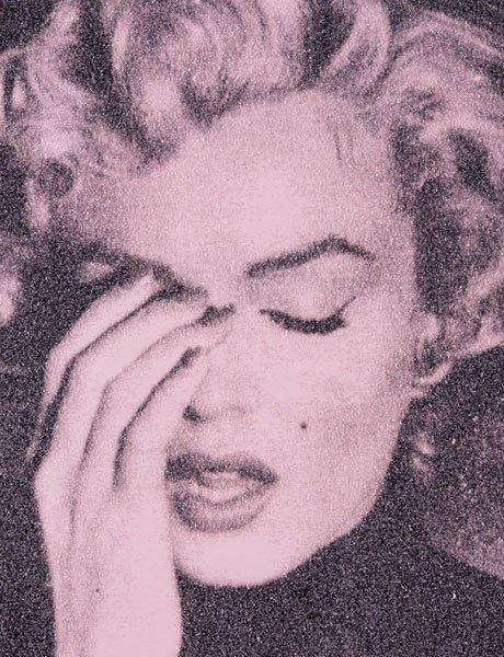Marilyn Crying, Powder Pink