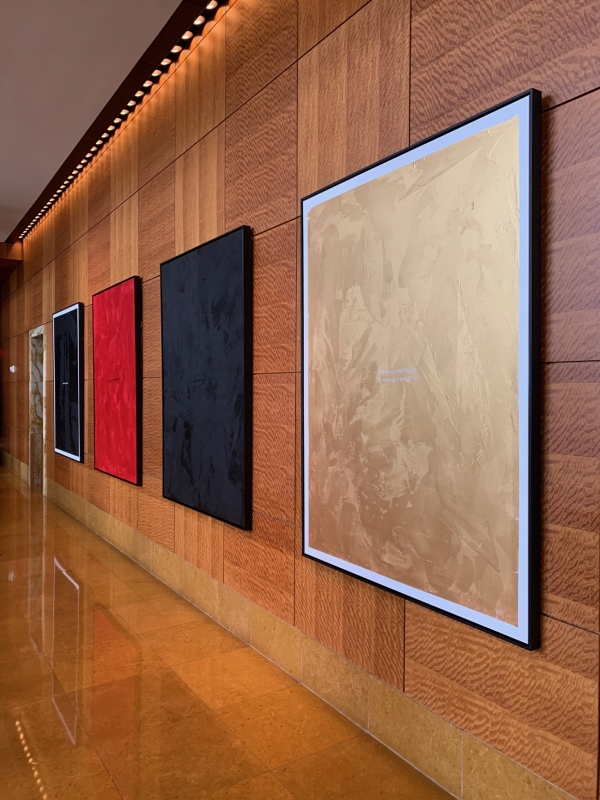 Queen Series Installation at Mandarin Oriental Hotel Miami